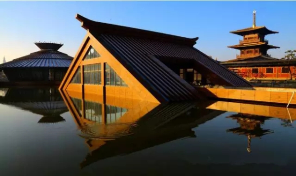 A glimpse of spectacular relic park in Sheshan
